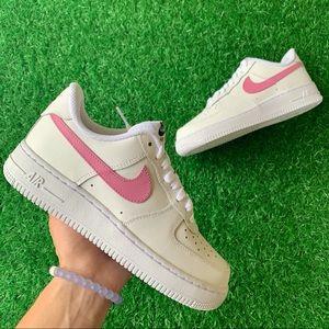 Nike Air Force 1 Pink Custom